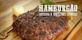 Hamburgão 4 Queijos - Churrasqueadas