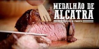 Medalhão de Alcatra e Geléia de Pimenta - Churrasqueadas