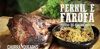 Pernil Com Farofa - Churrasqueadas