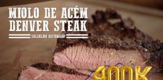 Miolo de Acém (Denver Steak) - Churrasqueadas