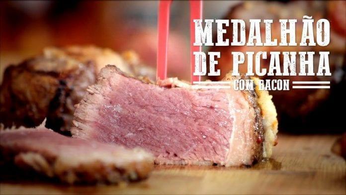 Medalhão de Picanha e Bacon - Churrasqueadas