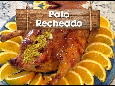 Pato Recheado com Farofa - Churrasqueadas