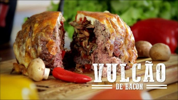 Vulcão de Bacon - Churrasqueadas