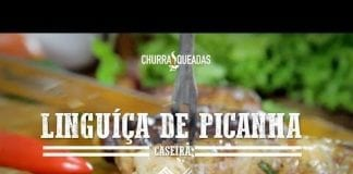 Linguiça de Picanha Caseira - Churrasqueadas
