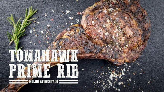 Tomahawk e Prime Rib - Churrasqueadas