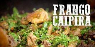 Frango Caipira com Quiabo - Churrasqueadas