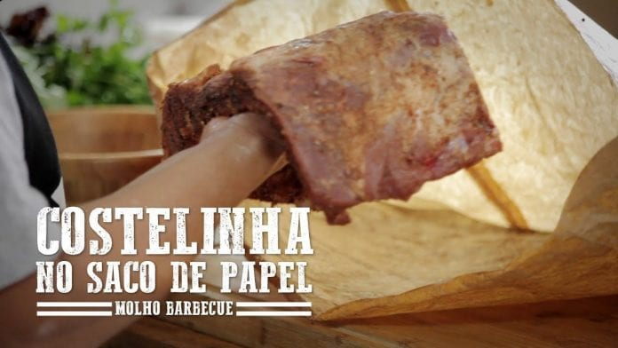 Costelinha no Saco de Papel - Churrasqueadas