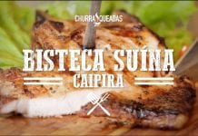 Bisteca Suína Caipira - Churrasqueadas