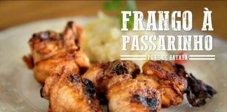 Frango à Passarinho e Purê de Batata - Churrasqueadas