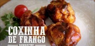 Coxinha de Frango com Molho Barbecue - Churrasqueadas