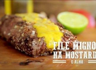 Filé Mignon na Mostarda - Churrasqueadas