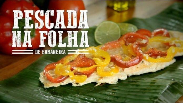Pescada na Folha de Bananeira - Churrasqueadas