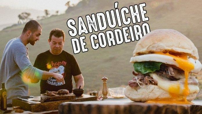 Sanduíche de Pernil Cordeiro (Part. Guto Quirós) - Churrasqueadas