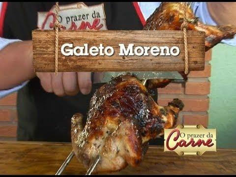 Receita: Galeto Moreno - Churrasqueadas
