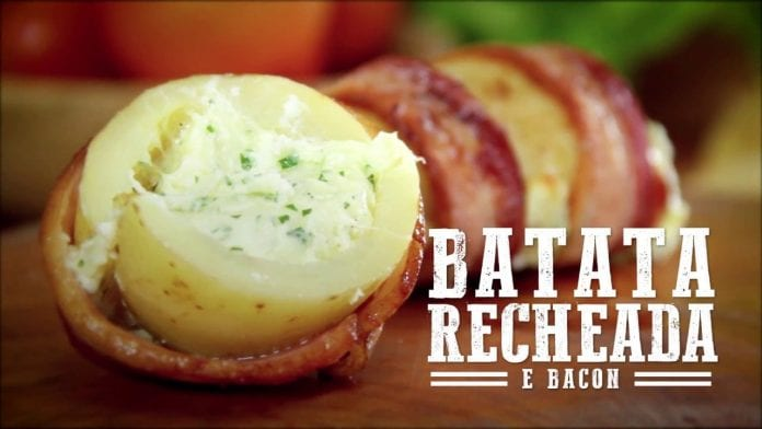 Batata Recheada e Bacon (Part. Camila Masullo/Sal de Flor) - Churrasqueadas