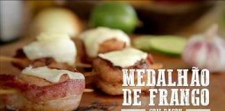 Medalhão de Frango com Bacon - Churrasqueadas