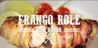 Churrasco de Frango Rolê com Bacon - Churrasqueadas