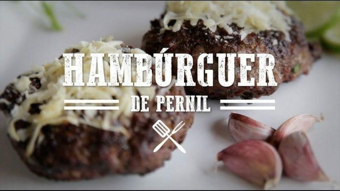 Churrasco de Hambúrguer de Pernil - Churrasqueadas