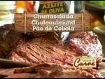 Churrasalada - Chateaubriand - Pão de Cebola - Churrasqueadas