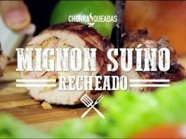 Mignon Suíno Recheado - Churrasqueadas