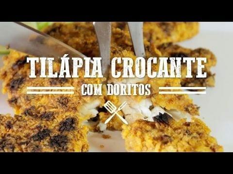 Churrasco de Tilápia com Doritos - Churrasqueadas