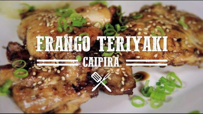 Churrasco de Frango Teriyaki Caipira - Churrasqueadas