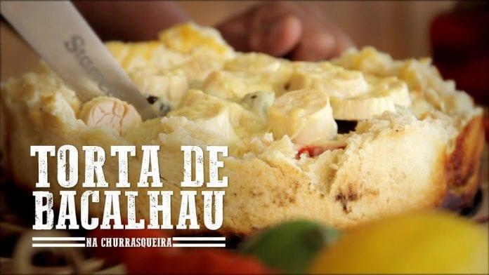 Torta de Bacalhau - Churrasqueadas