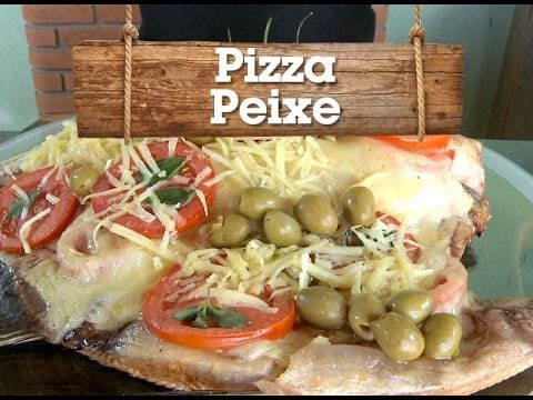 Churrasco de Pizza Peixe - Churrasqueadas