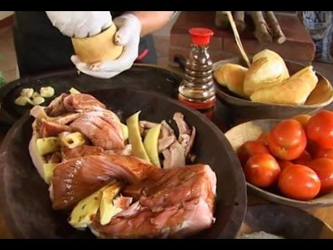 Lombo Trançado - Fígado com Jiló - Salada de Palmito - Churrasqueadas
