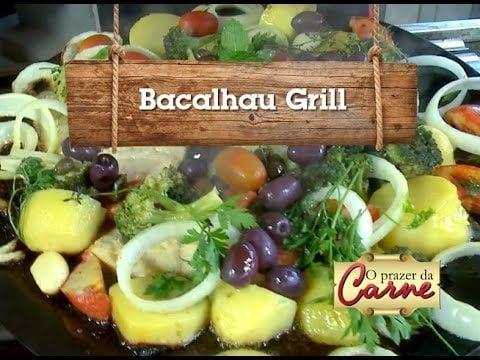 Bacalhau Grill - Churrasqueadas