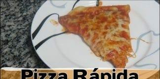 Como Fazer Uma Pizza Rápida !! - Canal Rango