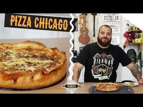 Pizza de Chicago - Especial Pizza Ep. 7 - Canal Rango