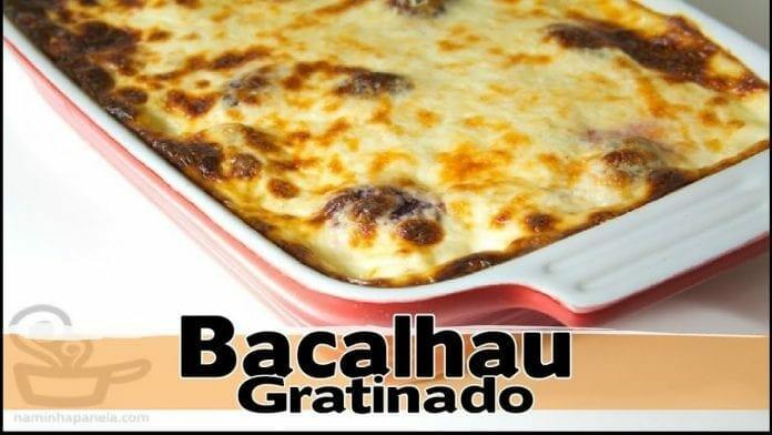 Bacalhau Gratinado !! Super Fácil - Canal Rango