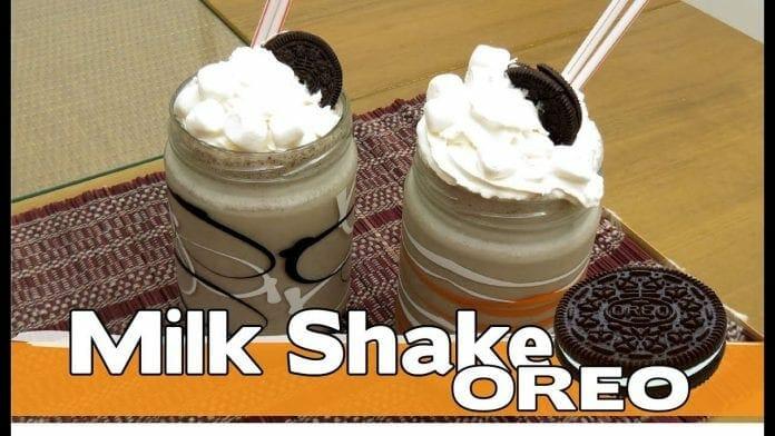 Milk Shake de Oreo - Canal Rango