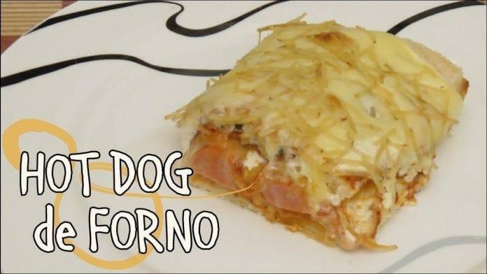 Hot Dog de Forno - Cachorro Quente - Canal Rango