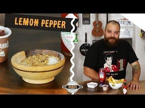 Como Fazer Lemon Pepper - Batata Rústica com Lemon Pepper - Canal Rango