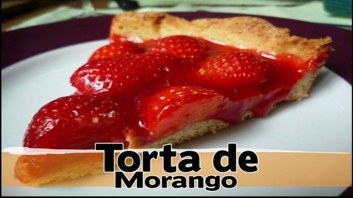 Torta de Morango! Receita de Padaria! - Canal Rango