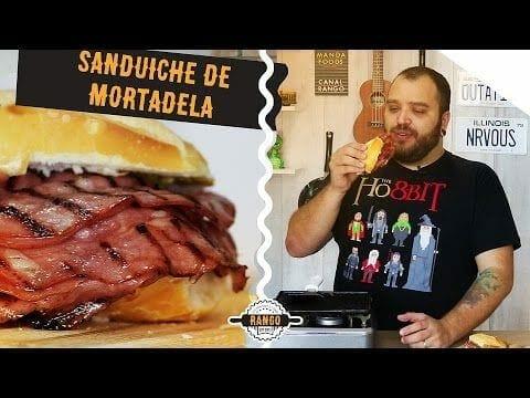 O Melhor Sanduíche de Mortadela - Canal Rango