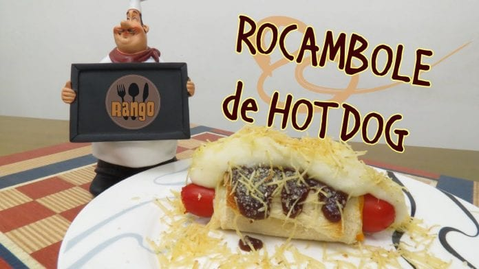 Rocambole de Hot Dog - Canal Rango