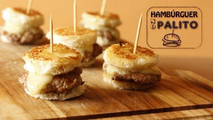 Hambúrguer no Palito - Canal Rango