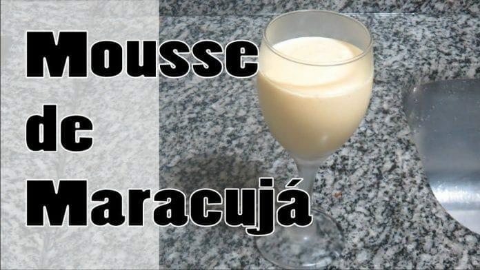 Mousse de Maracujá - Bom, Barato e Muito Fácil ! - Canal Rango