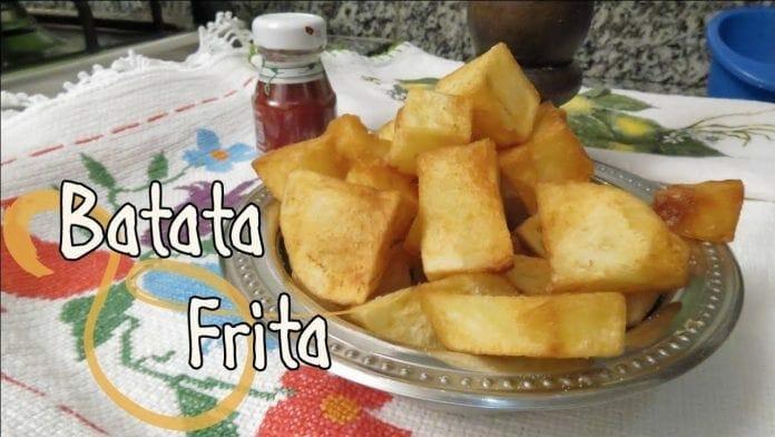 Como Fazer Batata Frita! - Canal Rango