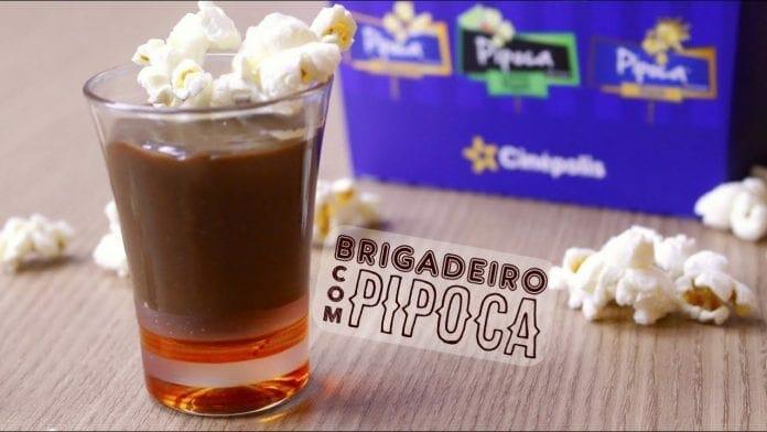 Brigadeiro com Pipoca - Canal Rango
