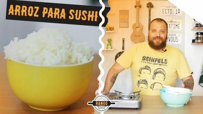 Como Fazer Arroz para Sushi - O Mais Fácil da Internet - Canal Rango