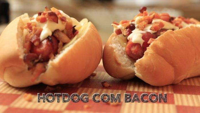 Hotdog com Bacon - Canal Rango