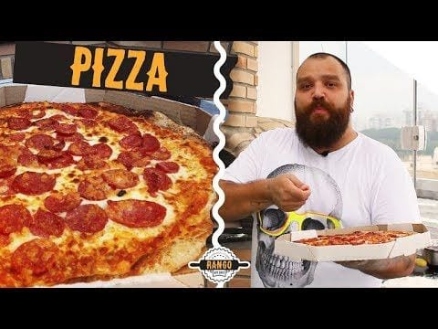 Como Fazer Pizza - Abrir Massa sem Rasgar - Especial Pizza Ep.2 - Canal Rango