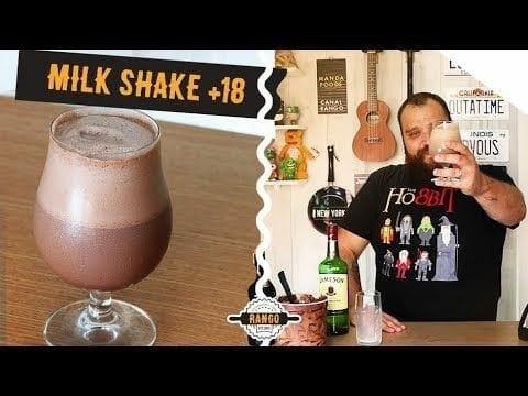 Milk Shake de Chocolate Com Whisky - Canal Rango