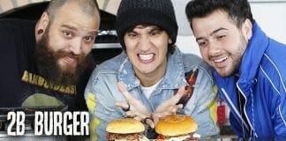 Burger 2B - Hambúrguer Com Molho De Morango Com Champagne - Canal Rango