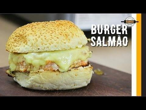 Hambúrguer de Salmão com Geleia de Abacaxi - Canal Rango