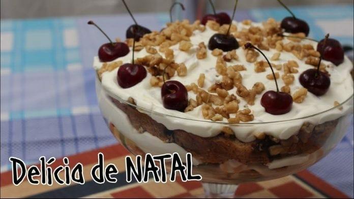 Delícia de Natal - Com Chocottone e Nozes! - Canal Rango